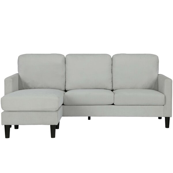 Wedgeworth Reversible Sectional by Ebern Designs