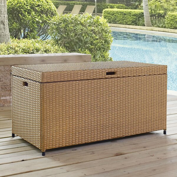 Brandy Outdoor Resin Deck Box by Mistana