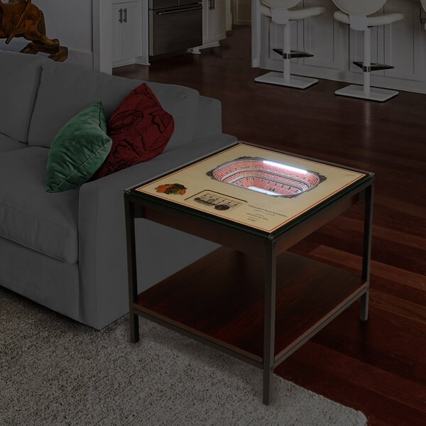 NHL Stadiumviews End Table by YouTheFan YouTheFan