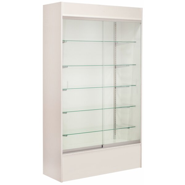 Wall Display Case with LED Light by KC Store Fixtu