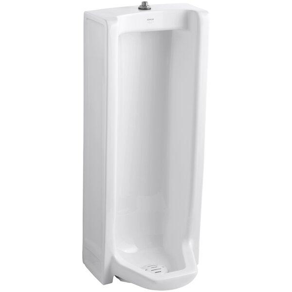 Branham Washout Floor-Mount 1 GPF Urinal with Top