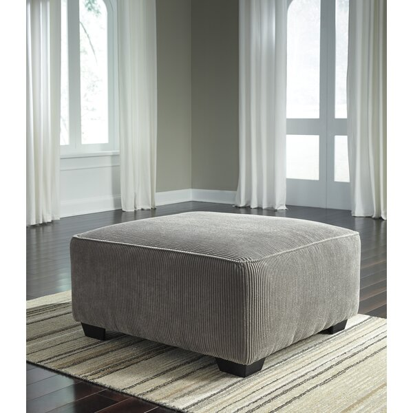 Ellicottville Cocktail Ottoman by Charlton Home