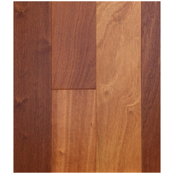 5 Engineered  African Sapele Hardwood Flooring in Whiskey by Easoon USA