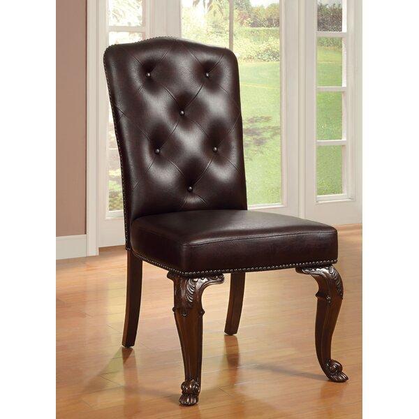 Dark Cherry Dining Chair (Set of 2) by Hokku Designs