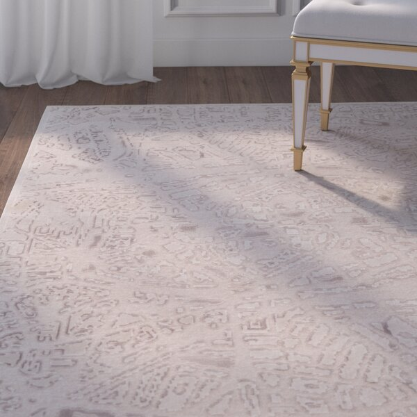 Ramona Cream Area Rug by House of Hampton| @ $414.17