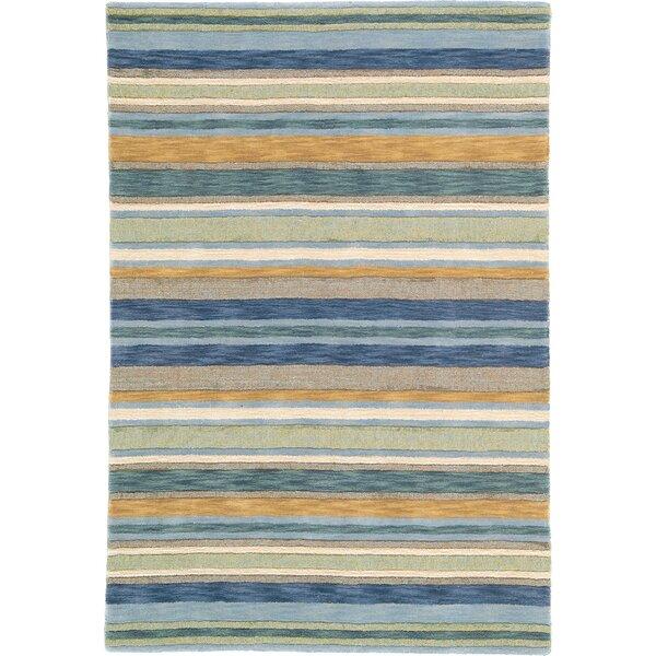 Sheffield Sea Grass Striped Rug by CompanyC