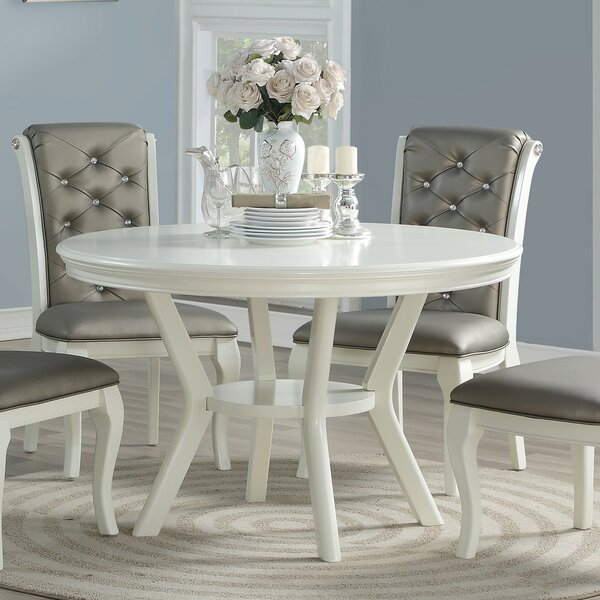 Toulouse Round Dining Table by Rosdorf Park Rosdorf Park