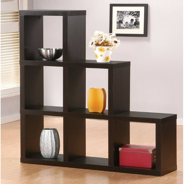 Gingras Wooden Cube Unit Bookcase by Ebern Designs