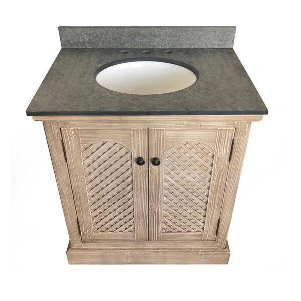 Volker Rustic Solid Fir 31 Single Bathroom Vanity Set by Millwood Pines