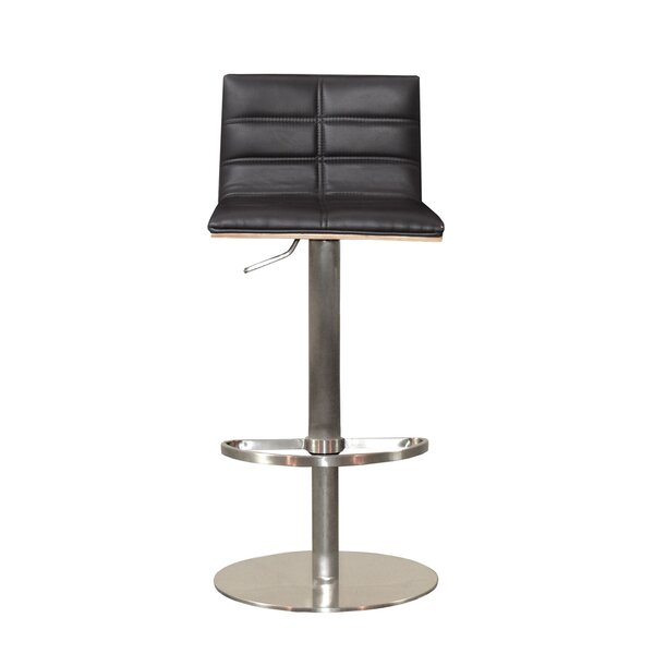 Sydney Adjustable Height Swivel Bar Stool by RMG Fine Imports