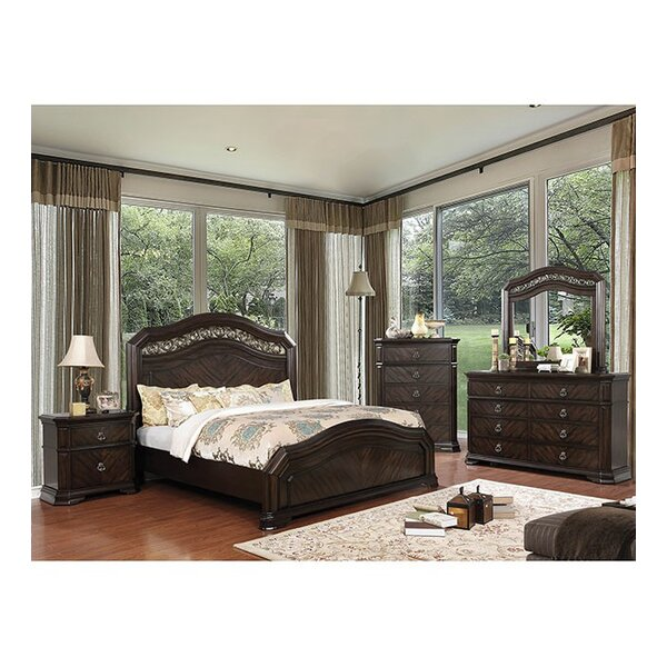 Robert California King Standard Configurable Bedroom Set by Fleur De Lis Living