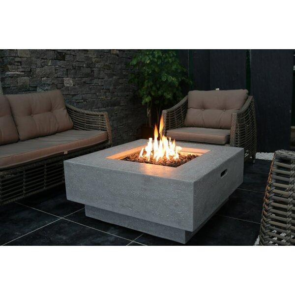 Zaragoza Concrete Fire Pit Table by Orren Ellis