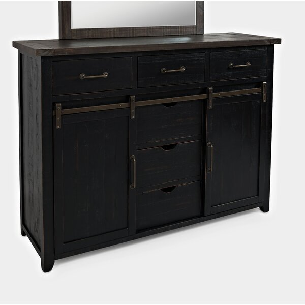 Flournoy 3 Drawer Combo Dresser by Millwood Pines