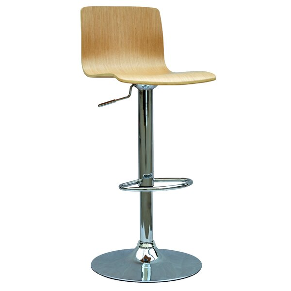 Chintaly Glastonbury Adjustable Height Swivel Bar Stool by Chintaly Imports