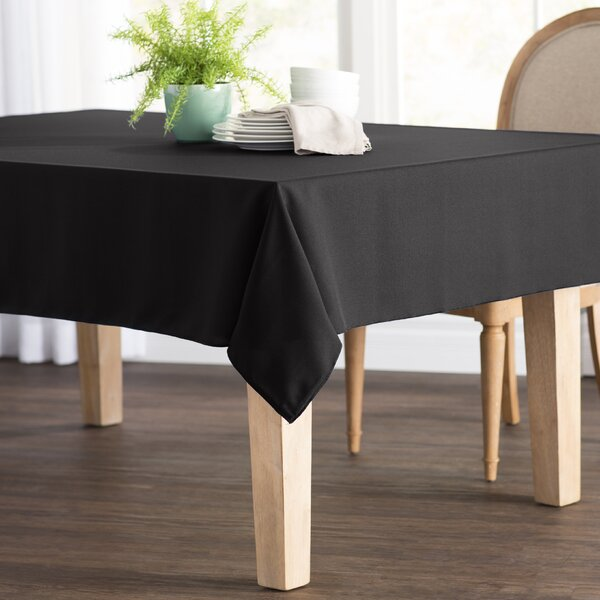 Wayfair Basics Poplin Rectangular Tablecloth by Wayfair Basics™