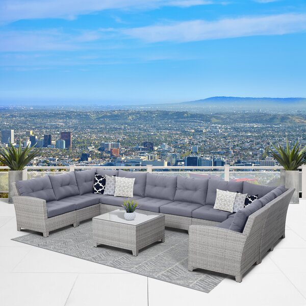 Cicero 11 Piece Sectional Set by Sol 72 Outdoor Sol 72 Outdoor