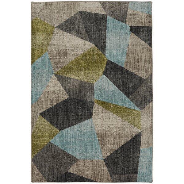 Metropolitan Gray/Blue/Green Area Rug by Mohawk Home