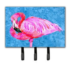 Flamingo Key Holder by Caroline's Treasures