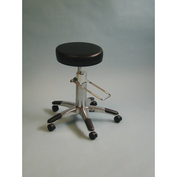 Height Adjusts Hydraulic surgical stool by Brandt Industries