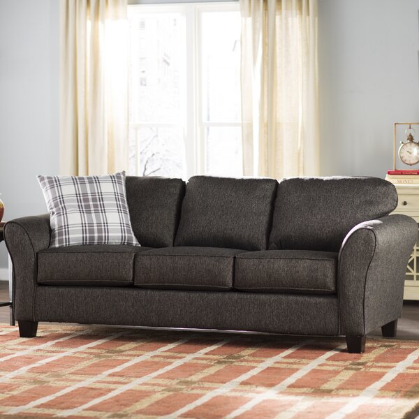 Deals Westbrook 87 Round Arms Sofa by Alcott Hill