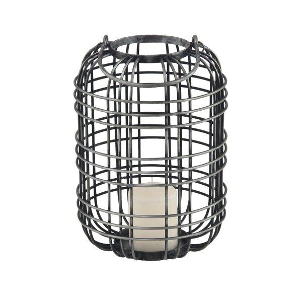 Osterley Metal Lantern by Gracie Oaks