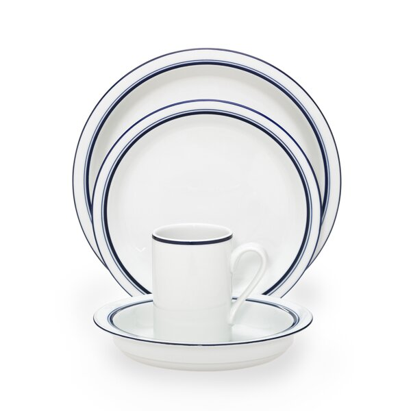 Christianshavn Blue 4 Piece Place Setting, Service for 1 by Dansk