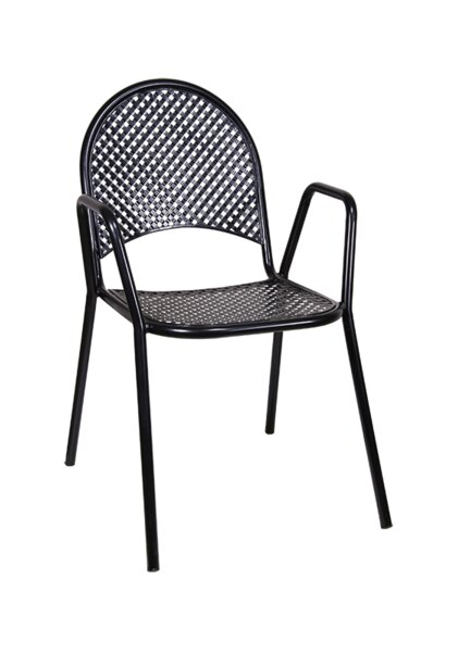 Stacking Patio Dining Chair (Set of 2) by H&D Restaurant Supply, Inc.