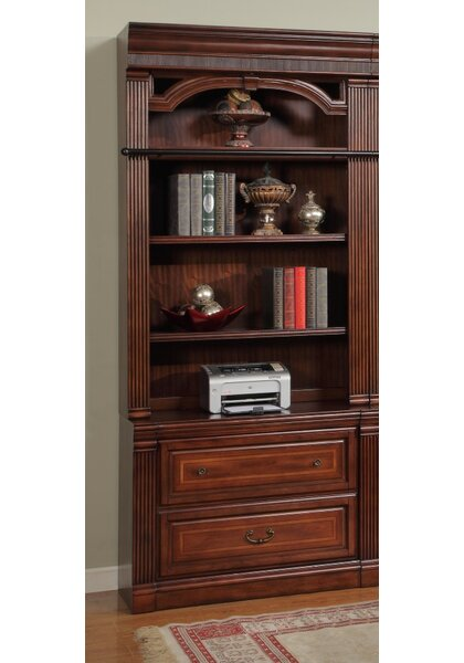Blackburn Library Standard Bookcase by Astoria Grand