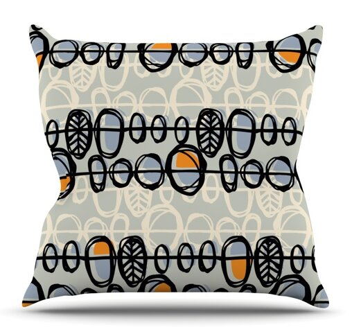 Benin by Gill Eggleston Outdoor Throw Pillow by East Urban Home