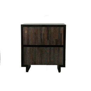 Rosario 2 Drawer Nightstand by Varick Gallery