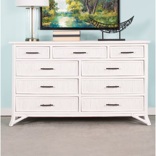 Bermuda 9 Drawer Double Dresser by David Francis Furniture