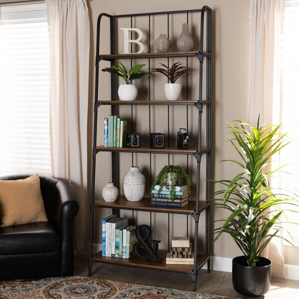 Lipan Living Room Ladder Bookcase By Williston Forge