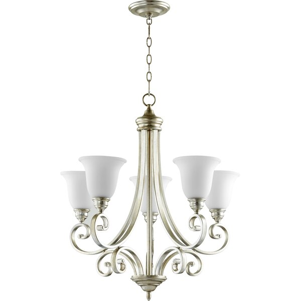 Asheville 5-Light Shaded Chandelier by Andover Mills