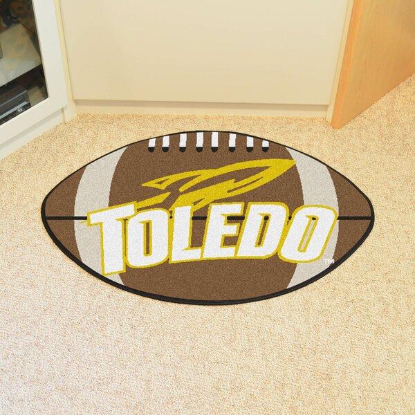 NCAA University of Toledo Football Doormat by FANMATS