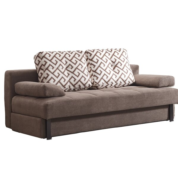 Dagley Contemporary Brown Sleeper by Latitude Run
