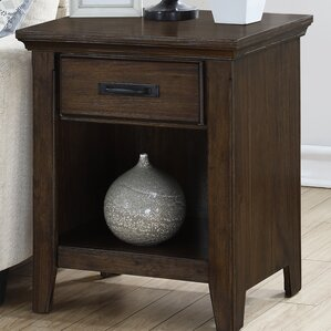 Rockwell End Table by Hazelwood Home