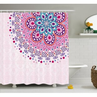 Indian Ornamental Shower Curtain