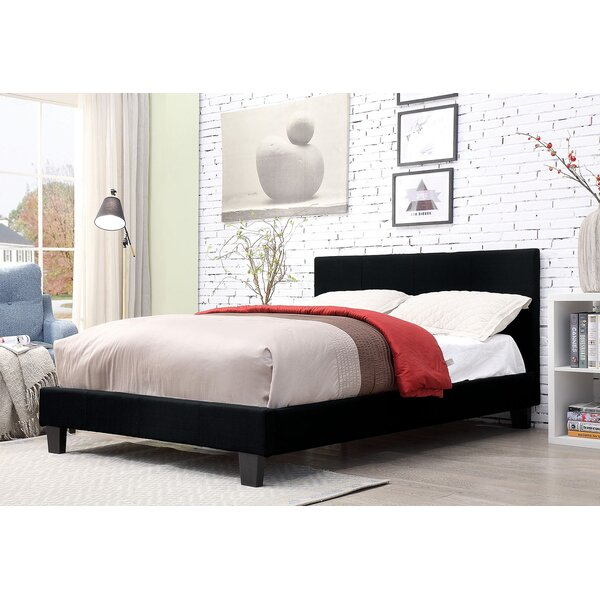 Nitya Upholstered Platform Bed by Latitude Run