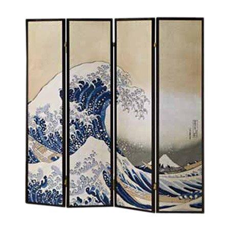 Fukusai Shoji 4 Panel Room Divider by Wildon Home ®