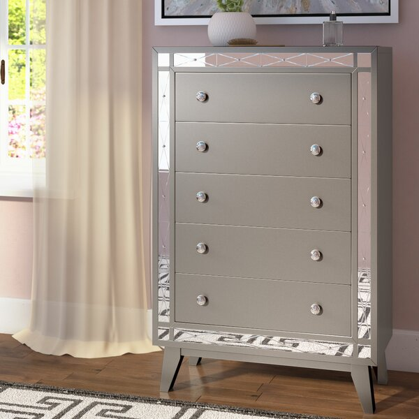 Alessia 5 Drawer Chest by Willa Arlo Interiors