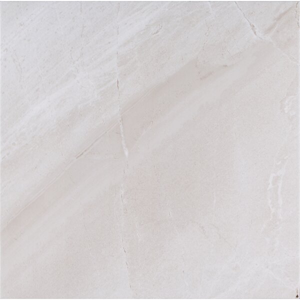Adella 18 x 18 Porcelain Field Tile in Gray by MSI