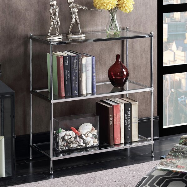 Tressie 3 Tier Etagere Bookcase by Orren Ellis