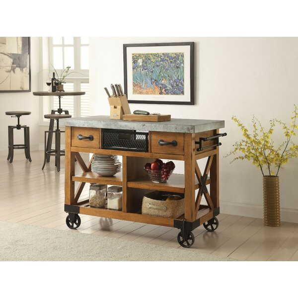 Heald Kitchen Cart by Gracie Oaks