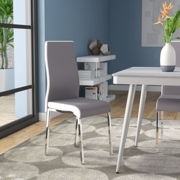 Salerno Upholstered Dining Chair (Set of 2) by Latitude Run