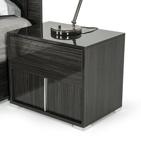 Marisol 2 Drawer Nightstand By Mercer41 by Mercer41 Today Only Sale