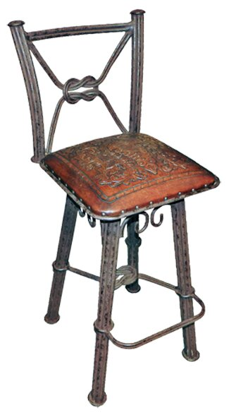 Chaucer Traditional 30 Metal Bar Stool (Set of 2) by Fleur De Lis Living