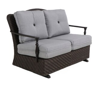 Bungalow Glider Bench with Cushion Paula Deen Home