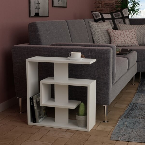 Rieves Modern End Table By World Menagerie