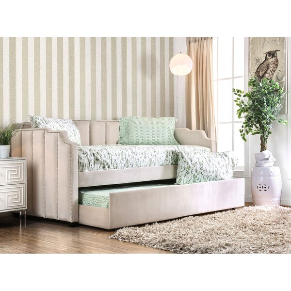 Minner Twin Daybed with Trundle by House of Hampton