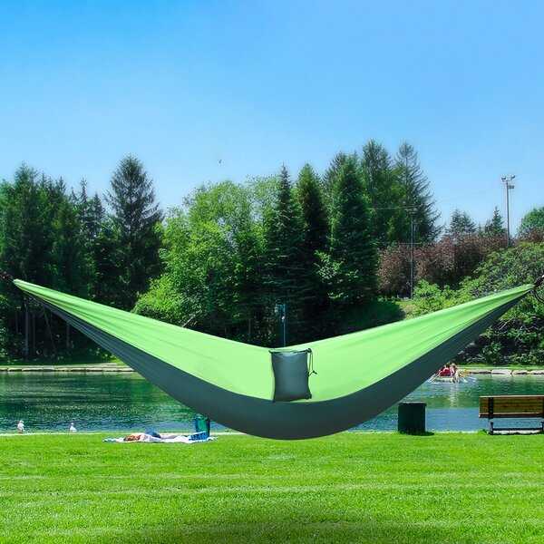 Wellesley Portable Camping Double Classic Hammock by Freeport Park